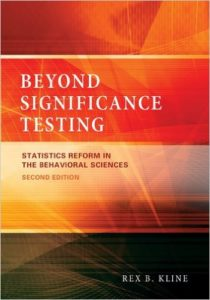 Beyond significance testing: Statistics reform in the behavioral sciences cover