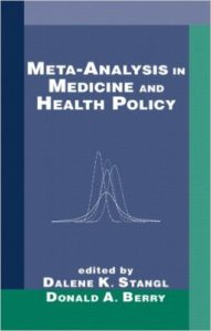 Meta-Analysis in Medicine and Health Policy