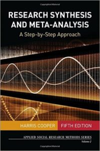 Cooper research syntesis cover