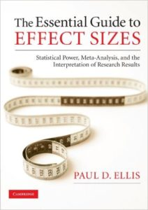 essential guide effect sizes